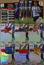 Full Set Update 2 + 6 Hero Neymar Adrenalyn XL Brazil Brasil World Cup 2014 Rare