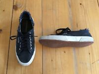 SUPERGA - Sneaker Schuhe Turnschuhe Classic Shoes - Gr.43=UK9=US10/US11,5 - blau