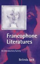 Francophone Literatures: An Introductory Survey