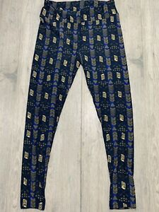 Lularoe TC Leggings BRAND New Blue And Gray