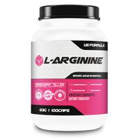 BBGenics Premium L-Arginin 100 Kapseln ideal für dein Training