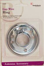 "RadioShack 15-835 TV Antenna Guy Wire Ring and Collar ~ Fits 1-1/4"" Inch  Mast"