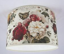"16"" Lampshade Handmade in UK - BomoArt Roses"