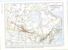 1905 Black Fox Skins Canada Photographs Map Of Dominion