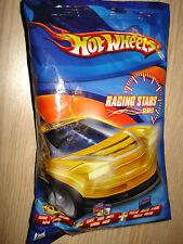 Bag Sealed Hot Wheels Racing Stars Series Auto Card Poster Mattel