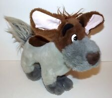 DISNEY'S DODGER vintage PLUSH- OLIVER & COMPANY 1988  MADE in KOREA MOVIE DODGER