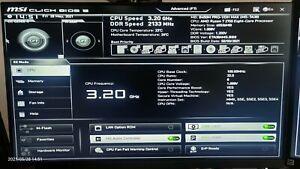 PC Bundle MSI B450M PRO-VDH MAX AMD Ryzen 7 2700 32GB DDR4 RX 460 2GB