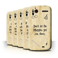 STUFF4 Back Case/Cover/Skin for HTC Sensation XE/School Of Magic Film Quotes