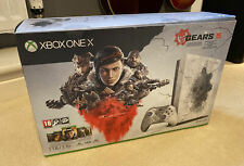 Xbox One X Gears Of War 5 Special Edition Console 1TB (No Game Code)