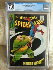 Amazing Spider-Man #60 CGC 7.0 (Marvel 1968) Kingpin appearance. Beautiful cover