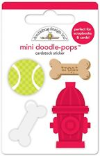 Doodlebug Design Inc. Doodle-Pops Puppy Play Stickers