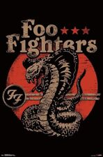 New Foo Fighters Cobra Poster (Rolled & Unopened)