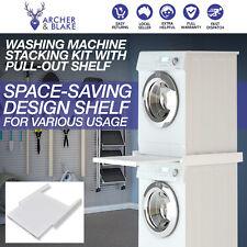 Washing Machine Washer Clothes Dryer Column Storage Space Stacker Stacking Kit