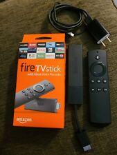 Amazon Fire TV Stick (2nd Gen)  Alexa Voice Remote - with box