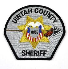 Uintah County Sheriff Uniform Aufnäher USA Polizei Emblem Patch Bügelflicken