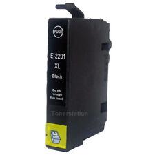 4 Epson Generic 220XL Black Only For WorkForce WF-2650 / XP-324 XP-420 Printer