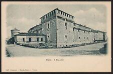 AX0701 Milano - Il Castello - Cartolina postale - Postcard