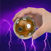 Novelty Electric Shocking Glowing Ball Auto Off Prank Toy Party Game Gift Charm