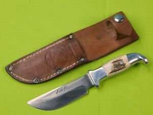 Vintage US Custom Made Rudy RUANA Model 13A Signed Blade Small Hunting Knife