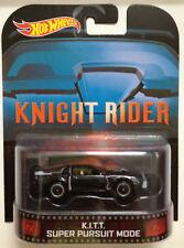 Hot Wheels Real Rider Retro Knight Rider K.I.T.T. Super Pursuit Mode MOSC