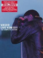 Rossi Vasco Live KOM 011 The Complete Edition - Box 2 CD + 2 DVD Nuovo Sigillato