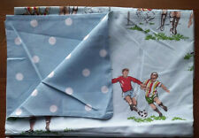 Cath kidston 1 Housewife Pillowcase Reversible Footie / Spots BNWoT Cotton New