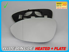 Wing Mirror Glass BMW Z4 E89 2009-2013 Wide Angle HEATED Left Side #B037