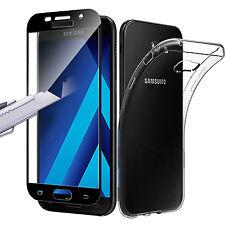 Pellicola Vetro Temperato Integrale Samsung A3/A5/A7 A20e/A40/A50 + Custodia