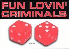 Fun Lovin' Criminals Come Find Yourself RARE promo sticker '96