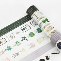 Fashion Washi Masking Tape Paper Craft Scrapbook DIY Diary Album Card Decoration