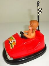 Vintage - Datsun RED Bump Bump Car Bump-n-Go Battery Operated - AS IS