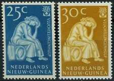Netherlands New Guinea 1960 SG#67-68 World Refugee Year MNH Set #E13741