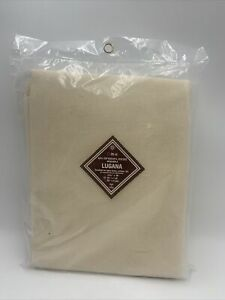 """LUGANA Linen Cotton Blend 25 Ct  55"""" x 1 Yd NOS Made in Europe"""