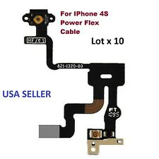 Lot x 10 Power Button Proximity Light Sensor Induction Flex Cable for iPhone 4S