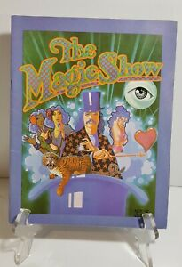 """The Magic Show"" 1974 Orig. Souvenir Program~Stephen Schwartz/Doug Henning"