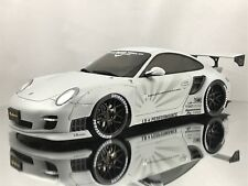 GT Spirit LB Performance Porsche 911 (997) Turbo Liberty Walk Grey 1:18