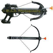 SOFT DART GUN CROSSBOW TOY SET CROSS BOW 4 ARROW 11 INCHES - BEST FUN FOR KIDS!