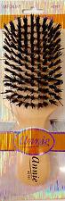 Annie Beard Brush Wooden Natural Boar Bristle Medium Club Woods Hair - 2161