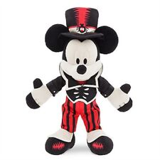 """DISNEY PARKS AUTHENTIC MICKEY MOUSE HALLOWEEN PLUSH 2017 9"""" H SATIN COSTUME NWT"""
