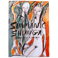Shamanic Shunga Zine by Arrington de Dionyso Risograph ny art book fair erotic