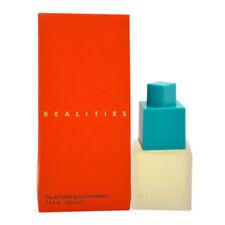 Realities Liz Claiborne Women 3.4 OZ 100 ML Eau De Toilette Spray New In Box