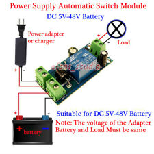 5V 12V 24V 36V 48V 10A Power Off Battery Power Supply Automatic Switching Module