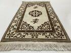 Vintage Bright Handmade Carpet Rug Traditional Oriental Wool Ornament 90×170 cm