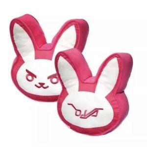 Blizzard 1 Overwatch DVA Bunny Pillow Plush Blizzcon D.Va Diva Licensed New