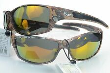 Polarized Camouflage Sport Sunglasses Hunting Fishing Outdoor VertX 56304pz Camo