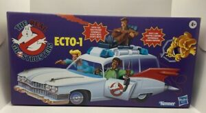 KENNER CLASSICS REAL GHOSTBUSTERS RETRO ECTO-1 VEHICLE ECTOMOBILE