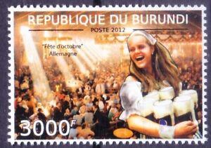 Festivals, October Feast, Beer Festival, Germany, Burundi 2012 MNH