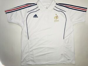 France 2010 2011 National Team Football Polo Shirt Jersey Size XL Rare Vintage