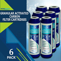 Granular Activated Carbon Filter 9.875 inch x 2.5 inch Set of 6