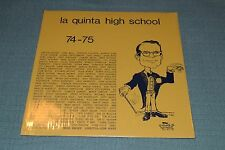 La Quinta High School~1974-1975~Chris Insley, Leon Honey~FAST SHIPPING